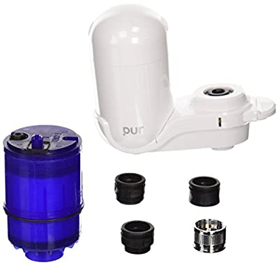 Pur New Basic Faucet Water Filter in White FM-3333B