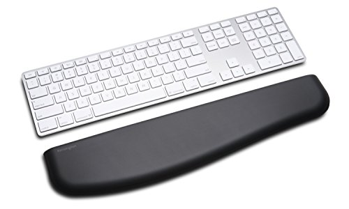 Kensington ErgoSoft Wrist Rest for Slim Keyboards, Black (Trust Numeric Keypad)