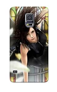 Protective Tpu Case With Fashion Design For Galaxy S5 (final Fantasy Vii - Advent Children ) by lolosakes
