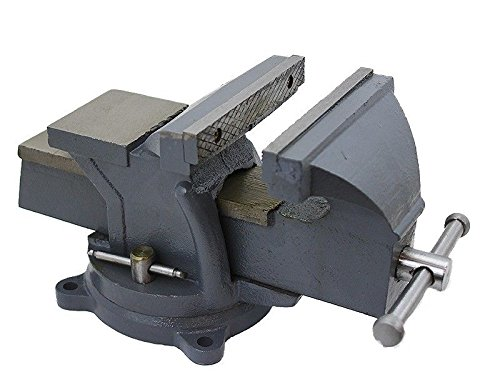 KCHEX>8' Bench Vise Clamp Tabletop Vises Swivel Locking Base Work Bench Top anvil>Precision crafted and designed to provide dependable service and satisfaction.