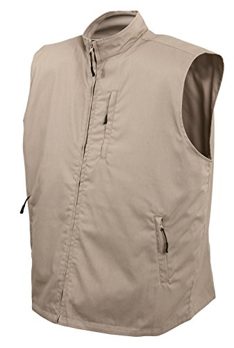 Shooting Vest Cloth (Rothco Undercover Travel Vest, Khaki, XX-Large)