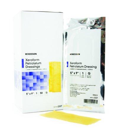 - McKesson Performance Xeroform Impregnated Gauze 5