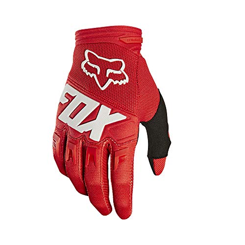 2019 Fox Racing Youth Dirtpaw Race Gloves-Red-YL