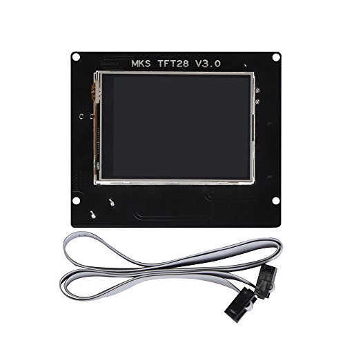 KINGPRINT MKS TFT28 2.8-Inch Full-Color Touch Screen 3D Controller Board for 3D Printer by KINGPRINT