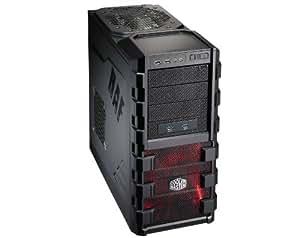 Cooler Master RC-912P-KKN1 - Caja de ordenador de sobremesa (3.5 mm, 2 x USB 2.0, e-SATA), negro
