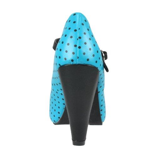 T.U.K. - Zapatos de vestir de sintético para mujer azul - turquesa