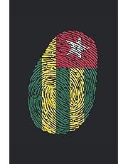 Notizbuch: Blanko Notizheft A5 Dot Grid mit Togo Cover  120 gepunktete Seiten   Softcover   A5 Format   Punktraster   schönes Cover   für Zeichnungen, Skizzen oder Notizen