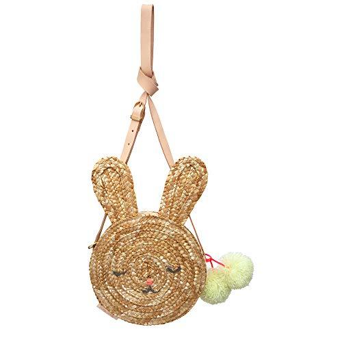 (Meri Meri Bunny Straw Bag)