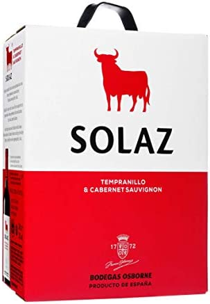 Vino tinto D.O. Tierra de Castilla Solaz Bag In Box Vino Tinto - 3L