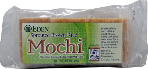 Eden Foods Sprouted Brown Rice Mochi -- 10.5 oz - 2 pc