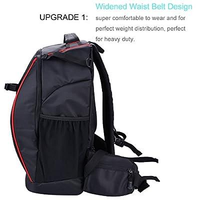 Bangcool Drone Backpack, Waterproof Carrying Case for DJI Phantom 3 Quadcopter Travel Shoulder Bag