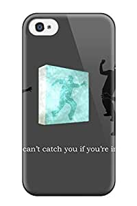 First-class Case Cover For Iphone 4/4s Dual Protection Cover Ninja Humor Abstract Humor