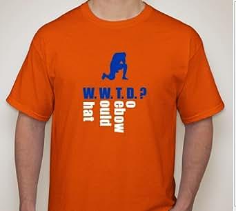 W.W.T.D T-Shirt Funny! (X-Large, Orange)