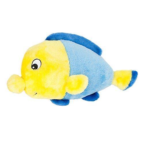 ZippyPaws - Grunterz Grunting Plush Large Dog Toy - Finn The Fish