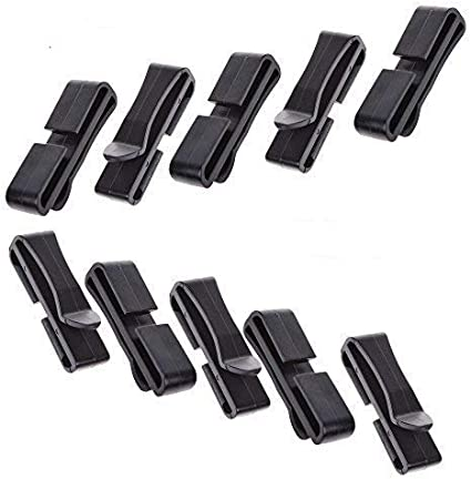5x molle webbing buckle strap belt end clips adjust keepers backpack accessor H#