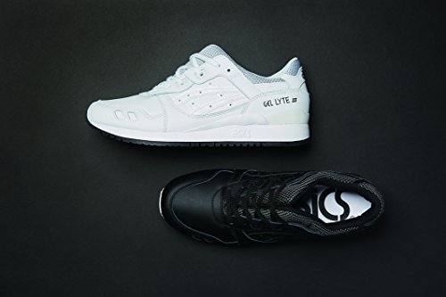 Gel EU Blanco White III Zapatillas White Asics Adulto Unisex 38 Lyte d1qKTv