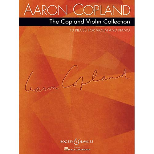 The Copland Violin Collection Boosey Hawkes Chamber Music Series Softcover Pack of 2 ()