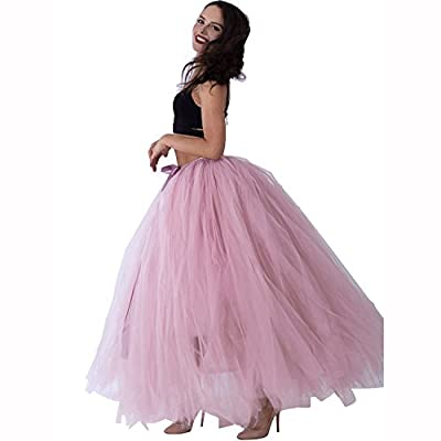 Handmade Maternity Tutu Floor Length Puffy Tulle Skirt for Women Wedding Costume Party Maternity Photoshoot Skirts