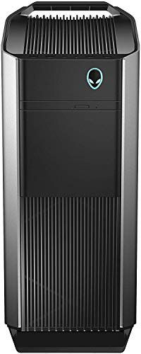 Alienware Aurora R8 High End Gaming Desktop Intel Core i5-9600K, 32GB Memory, NVIDIA GeForce RTX 2070, 1TB Hard Drive + 256GB Solid State Drive in Epic Silver (Renewed)