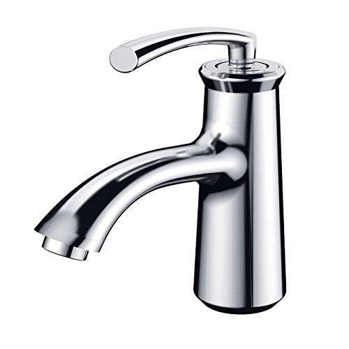 ELIMAX'S Elimax Luxury Short Chrome Single-handle Bathroom Lavatory Faucet by ELIMAX'S (Image #2)
