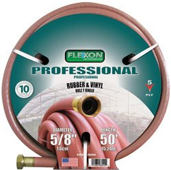 Flexon 701001 Hose Hd .25 In. X 50 Ft Terra Cotta