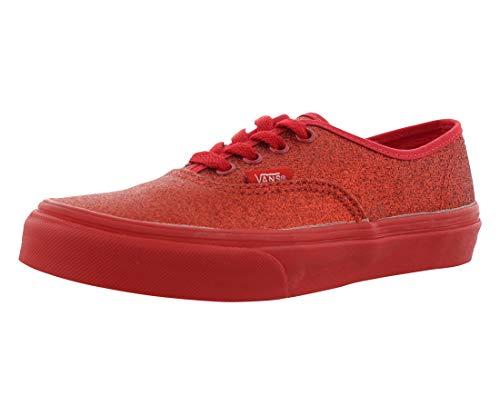 VANS Kids Shimmer Authentic (Shimmer) Red VN0004J1K4Y Youth 1 ()
