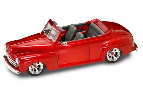 1948 Ford Convertible Red Shyne Rodz Collection