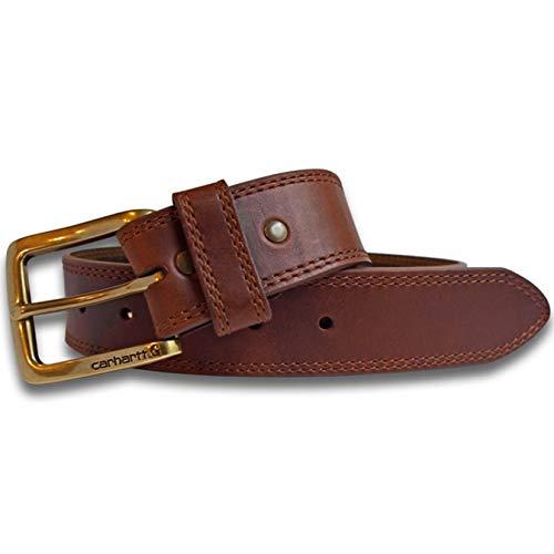 Carhartt Hamilton Men's Leather Belt CH-22504 Golden Brown 34