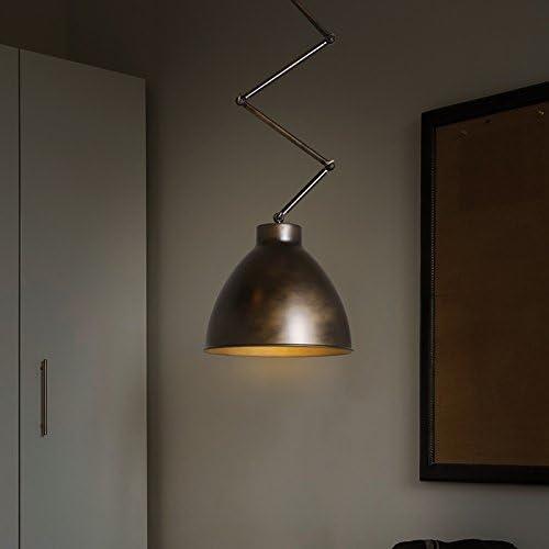 N.DFB Selector de estilo industrial Lámparas de techo Retro bar bodega puede ajustar la araña de luces de techo escamoteable, M Incluido13WBombillas de bajo consumo de luz blanca1Enumeración: Amazon.es: Iluminación