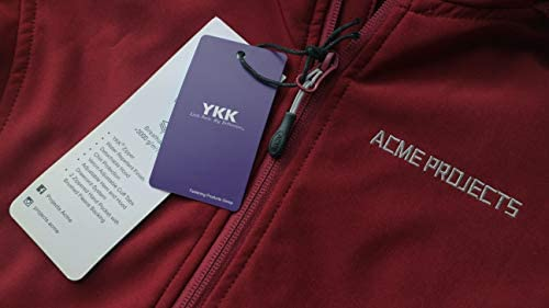 ACME PROJECTS WOMEN'S FLEECE LINED SOFTSHELL JACKET WITH DETACHABLE HOOD, WATERPROOF, BREATHABLE, 8000MM/5000GM, YKK ZIPPER