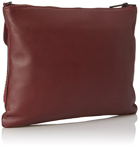 Cross Double Pouch Maroon LOEFFLER RANDALL Body Bag qFx5wtvwE