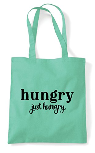 Statement Hungry Tote Just Bag Mint Shopper 5rU4Brxqw