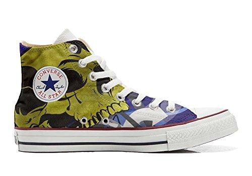 Star Customized Schuhe personalisierte Hi Converse All Schädel Schuhe Handwerk wt5fxqPpq