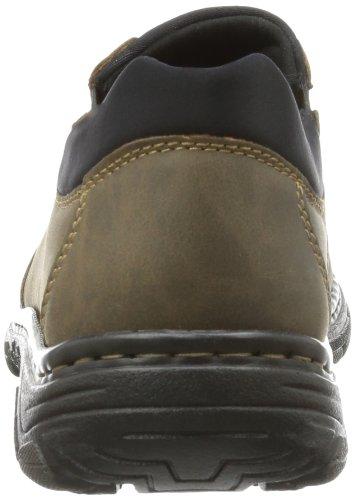 Braun Tabak 19961 Rieker Kakao sintético Schwarz Marrón de hombre Zapatillas 25 material casa de Bqx6wzvqd