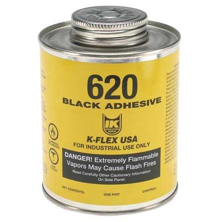 K-FLEX USA 800-620-PTB Contact Adhesive 620 1 Pint Black