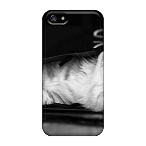 ApyEnMN8109gNfrd Jeffrehing Awesome Case Cover Compatible With Iphone 5/5s - Kitty's Bag by Maris's Diary