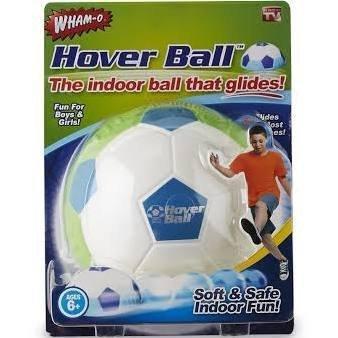 Hover Ball Schaumstoff-Fußball, super weich zum Spielen im Haus, hinterlässt keine Kratzer am Boden, Farbe: Grün