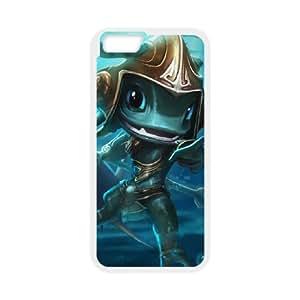 iPhone 6 4.7 Inch Cell Phone Case White League of Legends Atlantean Fizz Sjggn