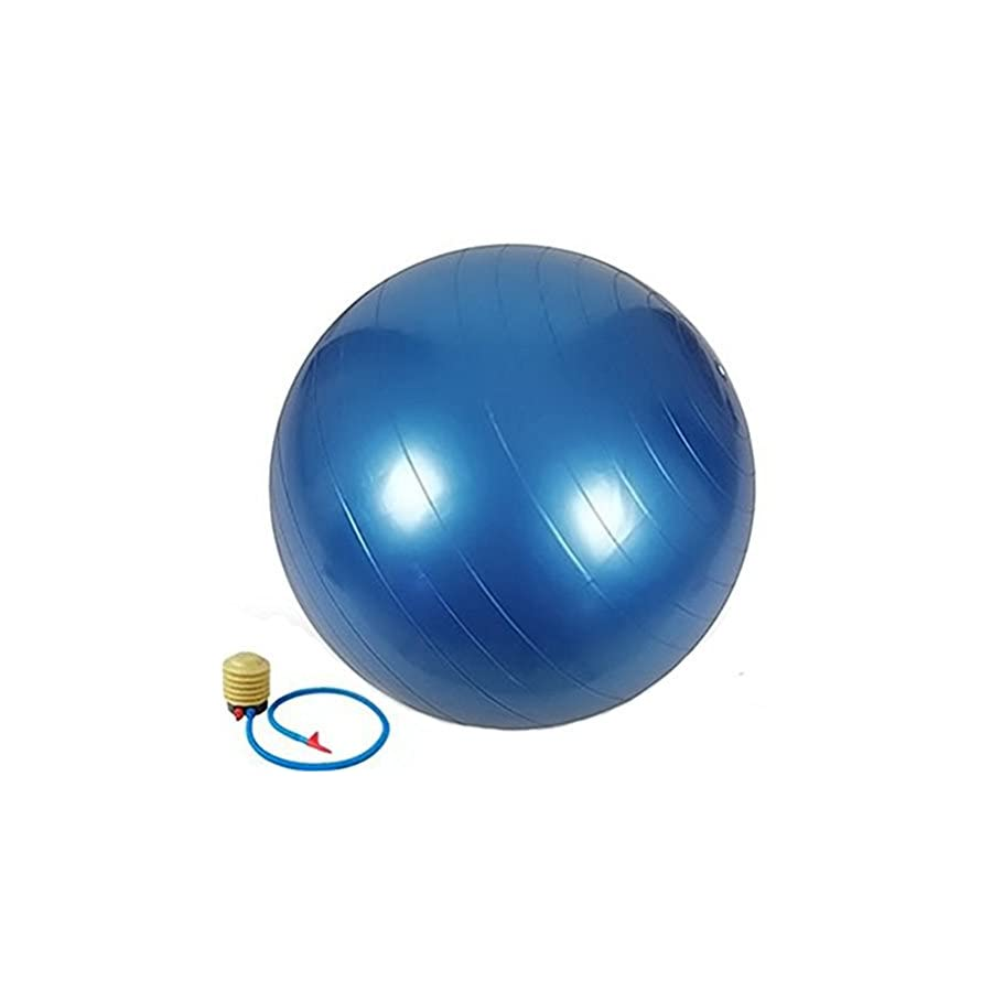 MIYOUDA QUBABOBO Stability Balance Fitness Yoga Ball,Weight Loss,Strength Exercise,Swiss Balls with Pump 55CM,65CM,75CM,85CM(4 Colors Option)