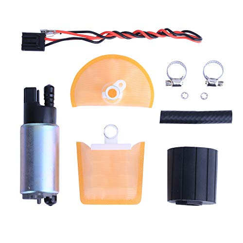LAMDA LDP342 255 LPH High Flow High Performance Universal Electric Fuel Pump with Install Kit