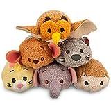 "Disney Winnie the Pooh ""Tsum Tsum"" Plush - Mini - 3 1/2"" Set of 6"