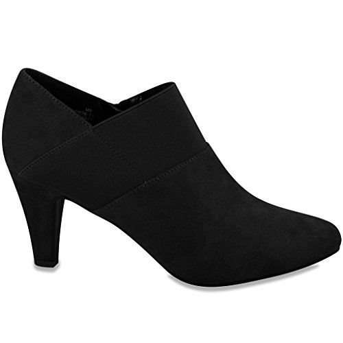 Pictures of London Fog Womens Bobbie Heel Ankle Booties 7.5 M US 3