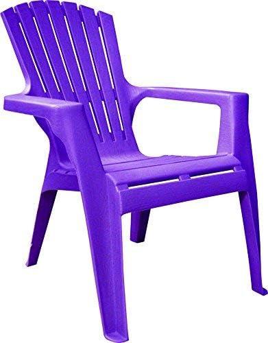 Kids Adirondack Chair 8460-12-3931 Bright Violet