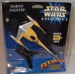 Estes Star Wars Naboo Fighter Episode I Rocket