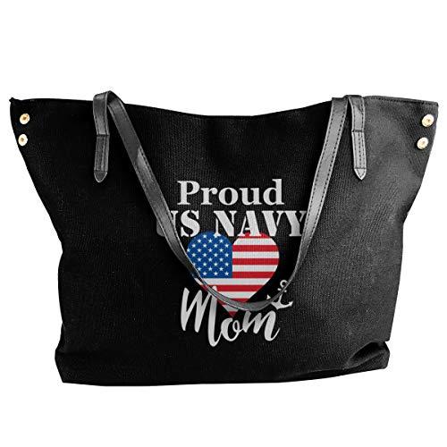Proud Us Navy Mom Tote Bags...