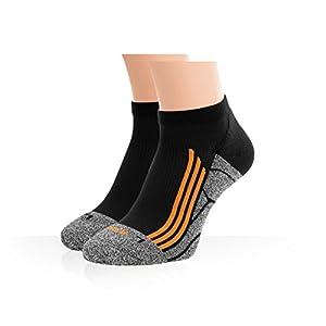 Socks men pack - low calf - compression running athletic - mens crew socks