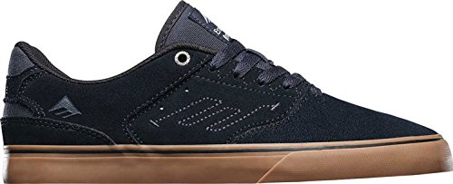 Emerica The Reynolds Low Vulc, Men's Technical Skateboarding Shoes Blue
