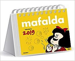 Mafalda 2019 Calendario de escritorio - Amarillo (Spanish ...