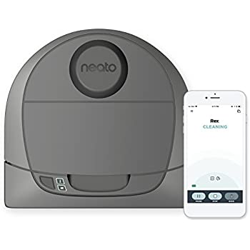 Neato Botvac D3 Wi-Fi Connected Laser Navigating Robot Vacuum, Works with Amazon Alexa