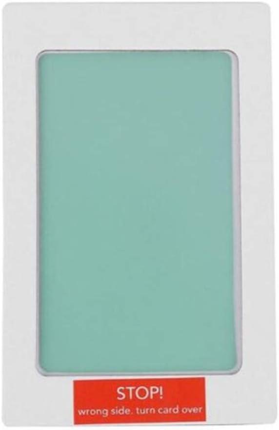 Fulltime Pet Paw Print Pad Baby Fu/ßabdruck Handabdruck Stempelkissen Fotorahmen Stempelkissen Souvenir Geschenk Blau